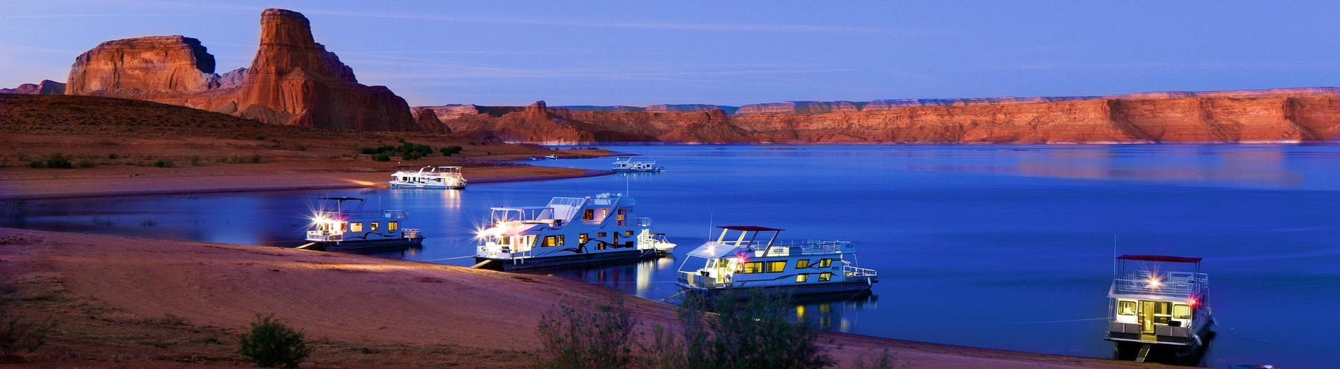 Lake Powell Houseboats For On In Utah And Arizona Houseboat Als